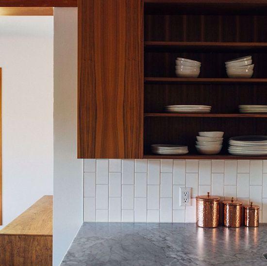 Picture of Wooden kitchen door
